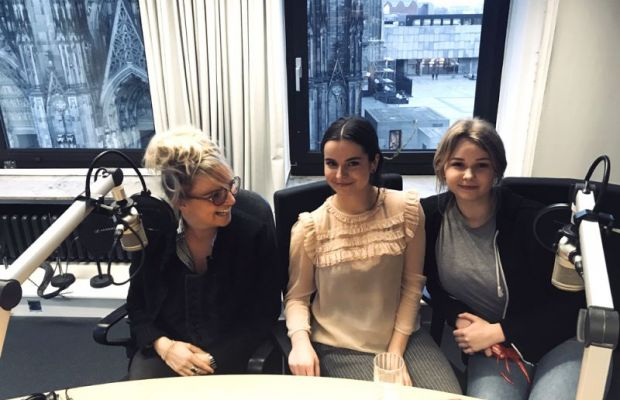 "EMG beim Domradio ""on air"""