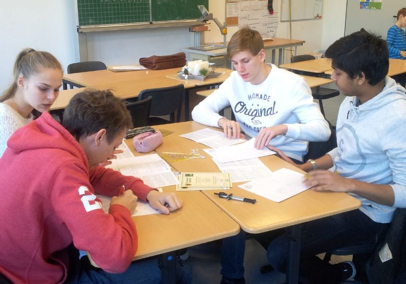 Teamwork in Mathe